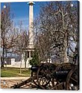 Lookout Mountain Peace Monument 2 Acrylic Print