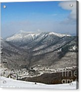 Loon Mountain Ski Resort White Mountains Lincoln Nh Acrylic Print
