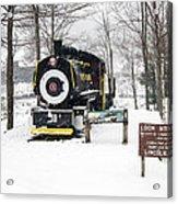Loon Mountain Train Acrylic Print