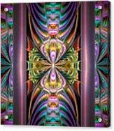Loonie Behind Bars Acrylic Print