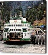 Lopez Island Ferry Acrylic Print