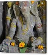 Lord Ganesha Acrylic Print by Makarand Kapare