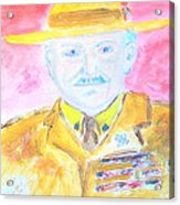 Lord Robert Baden Powell And Scouting 2 Acrylic Print