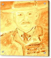 Lord Robert Baden Powell And Scouting 3 Acrylic Print