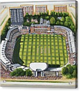 Lords Cricket Ground Acrylic Print
