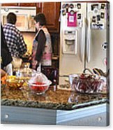 Lorna Kitchen Busy2 2009 Acrylic Print