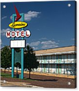 Lorraine Motel Sign Acrylic Print by Joshua House