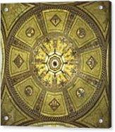 Los Angeles City Hall Rotunda Ceiling Acrylic Print