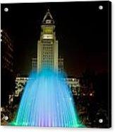 Los Angeles City Hall02 Acrylic Print