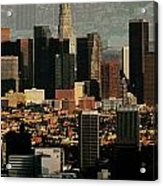 Los Angeles Classic Acrylic Print