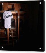 Los Angeles Dodgers Photo Day Acrylic Print