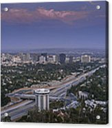Los Angeles Acrylic Print by Pro Shutterblade