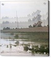 Los Angeles Riverbed  / Multi Parallel Effect Acrylic Print