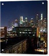Los Angeles Skyline At Dusk Acrylic Print
