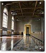 Los Angeles Union Station Interior Acrylic Print