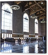 Los Angeles Union Station Original Ticket Lobby Vertical Acrylic Print