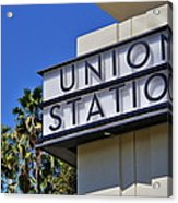 Los Angeles Union Station Acrylic Print