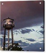 Los Lunas Water Tower Acrylic Print
