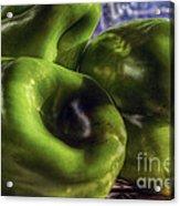 Los Tres Amigos Verdes Acrylic Print