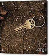 Lost And Found Key Acrylic Print