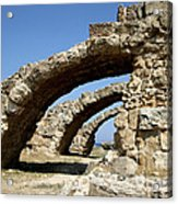 Lost City Of Salamis Cyprus  Acrylic Print