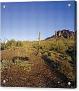 Lost Dutchman Park Supestition Mountains Acrylic Print
