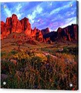 Lost Dutchmans State Park Arizona Acrylic Print
