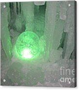 Lost Ice Globe Acrylic Print