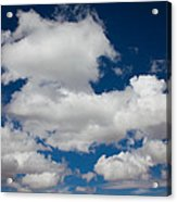 Lost In The Clouds Acrylic Print