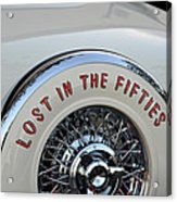 Lost In The Fifties Acrylic Print