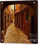 Lost In Venice Acrylic Print