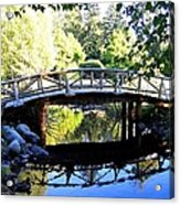 Lost Lagoon Bridge Acrylic Print