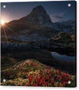 Lost Mountain Acrylic Print