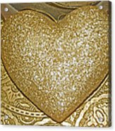 Lost My Golden Heart Acrylic Print