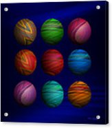 Lost My Marbles Acrylic Print