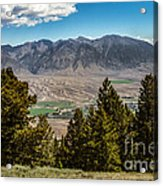 Lost River Mountains Acrylic Print
