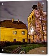 Lotrscak Tower Zagreb Famous Landmark Acrylic Print