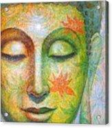 Lotus Meditation Buddha Acrylic Print
