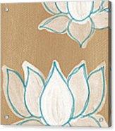 Lotus Serenity Acrylic Print