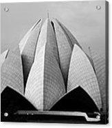 Lotus Temple - New Delhi - India Acrylic Print