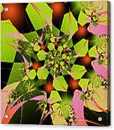 Loud Bouquet Acrylic Print
