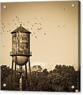 Loudon Water Tower Acrylic Print