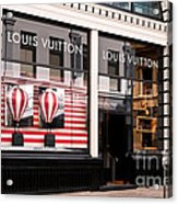 Louis Vuitton 04 Acrylic Print
