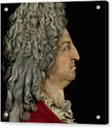Louis Xiv 1638-1715 1706 Mixed Media Acrylic Print