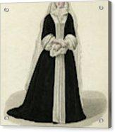 Louise Adelaide D'orleans Mademoiselle Acrylic Print