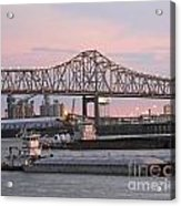 Louisiana Baton Rouge River Commerce Acrylic Print