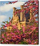Louvre Blossoms Acrylic Print