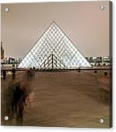 Louvre Museum Entrance Two Acrylic Print