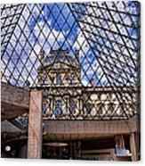 Louvre Museum Paris France Acrylic Print