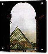 Louvre Paris Acrylic Print
